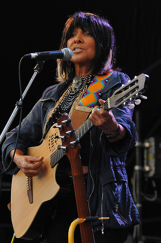 Buffy Sainte Marie by Sean Richardson