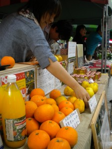 Roppongi Market: citrus from Ehime