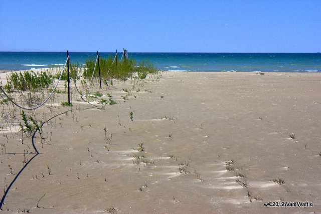 Beach at Presqu'ile Provincial Park