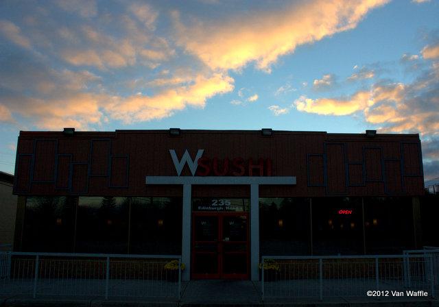 Wsushi at sunset