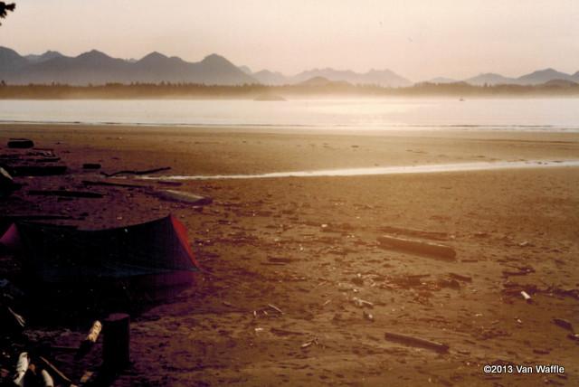 Camping at Pacific Rim