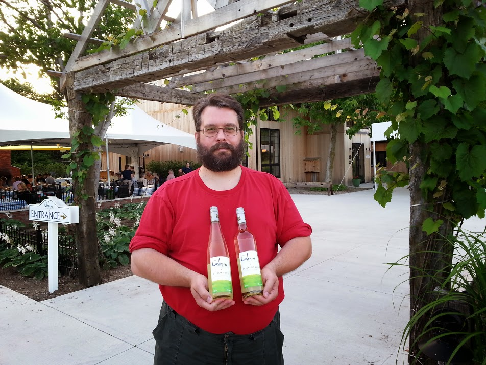 Danny at Oxley Estate Winery