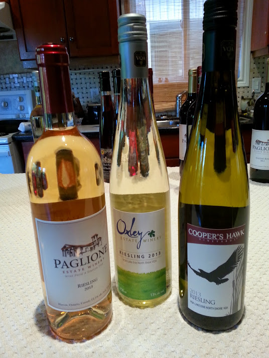Lake Erie Riesling wines