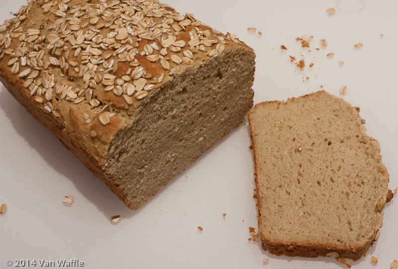 Gluten Free Maple Oatmeal Bread