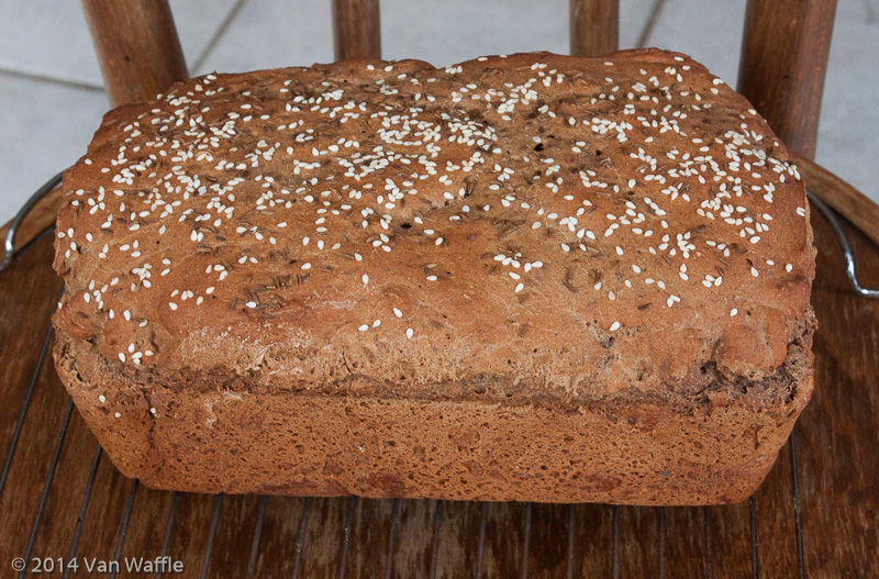 Gluten Free Pumpernickel Bread