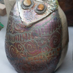 Pearlescent owl