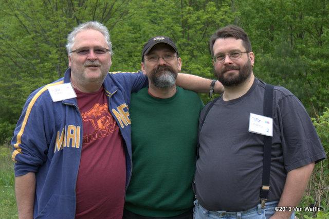 John Wise, Ron Doughten and Danny Ouellette